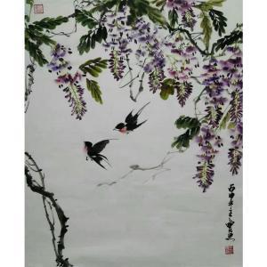 王立丰国画作品《【燕归】作者王立丰》价格400.00元