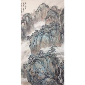郑诚国画作品《【天泉】作者郑诚》价格4800.00元