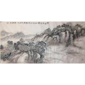 郑诚国画作品《【层云迭起】作者郑诚》价格4800.00元