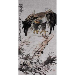 王贵烨国画作品《【雄风】作者王贵烨》价格23000.00元