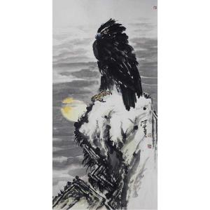 王贵烨国画作品《【日出东升】作者王贵烨》价格25000.00元