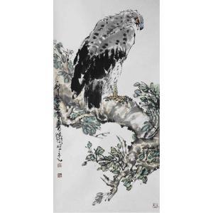 王贵烨国画作品《【雄风】作者王贵烨》价格30000.00元