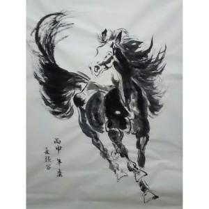 史永强国画作品《【马】作者史永强》价格480.00元