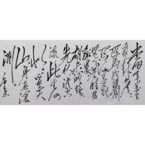 史永强书法作品《【毛泽东诗词】作者史永强》价格432.00元
