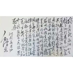 史永强书法作品《【沁园春长沙】作者史永强》价格432.00元