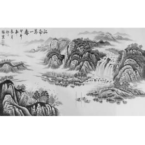 王幸裕国画作品《【山水6】作者王幸裕》价格3120.00元