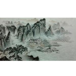 王幸裕国画作品《【山水8】作者王幸裕》价格3120.00元