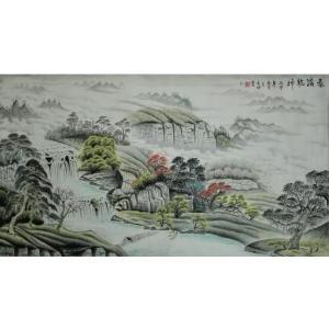 王幸裕国画作品《【山水9】作者王幸裕》价格3120.00元