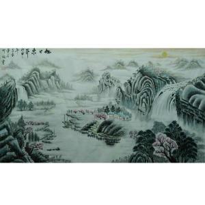 王幸裕国画作品《【山水12】作者王幸裕》价格3120.00元