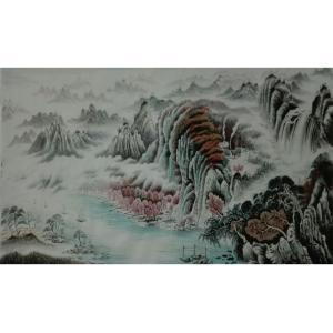 王幸裕国画作品《【山水13】作者王幸裕》价格3840.00元