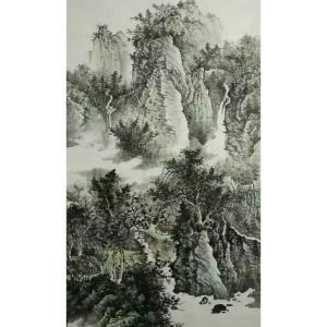 艾国国画作品《【山水9】作者艾国》价格456.00元