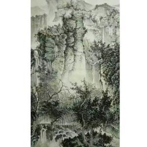 艾国国画作品《【山水10】作者艾国》价格240.00元