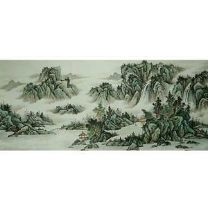 艾国国画作品《【山水11】作者艾国》价格792.00元
