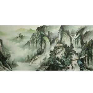 艾国国画作品《【山水12】作者艾国》价格792.00元