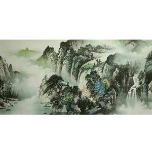 艾国国画作品《【山水13】作者艾国》价格792.00元