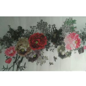 艾国国画作品《【花鸟1】作者艾国》价格200.00元