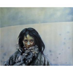 韦振华油画作品《【小卓玛】作者韦振华 临摹》价格1920.00元
