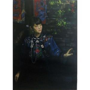 韦振华油画作品《【迎春】作者韦振华 临摹》价格1920.00元