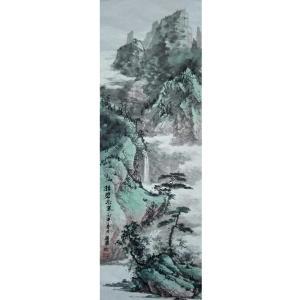 王英勇国画作品《【高山图】作者王英勇》价格4800.00元