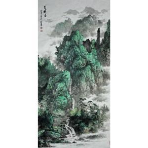 王英勇国画作品《【黄山美景】作者王英勇》价格9120.00元