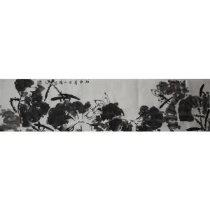 李伯元国画作品《【荷花】作者李伯元》价格260.00元