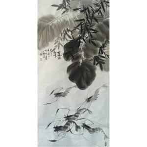 周居安国画作品《【芭蕉情】作者周居安》价格2880.00元