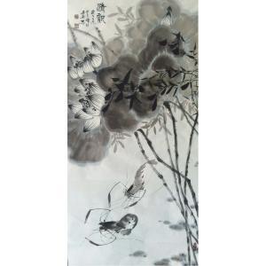 周居安国画作品《【清新】作者周居安》价格2880.00元
