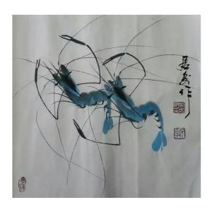 周居安国画作品《【相亲相爱】作者周居安》价格480.00元