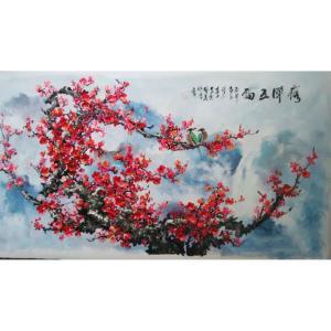 温喜周国画作品《【花鸟】作者温喜周》价格136080.00元