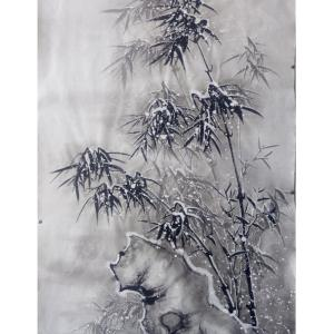 于宗孝国画作品《【竹子5】作者于宗孝》价格1200.00元