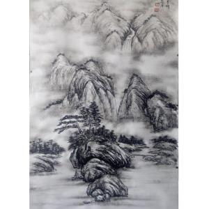 于宗孝国画作品《【山水7】作者于宗孝》价格1440.00元