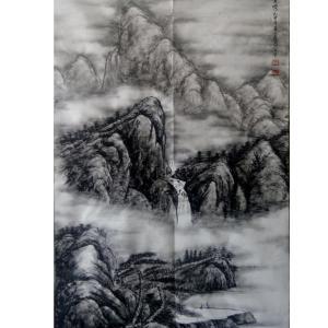 于宗孝国画作品《【山水3】作者于宗孝》价格1440.00元