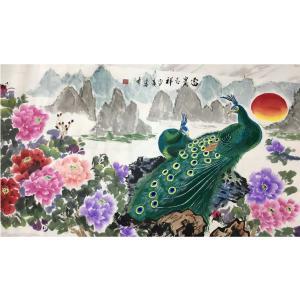 高文清国画作品《【富贵吉祥】作者高文清》价格100000.00元