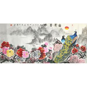 高文清国画作品《【富贵吉祥】作者高文清》价格180000.00元
