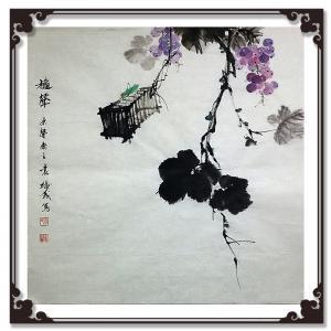 袁树茂国画作品《【声】作者袁树茂》价格1680.00元