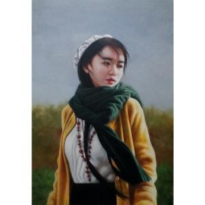 王冬寒油画作品《【写生 少女】作者王冬寒》价格4320.00元