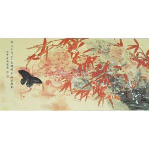 刘长亮国画作品《【蝶舞】作者刘长亮》价格3840.00元