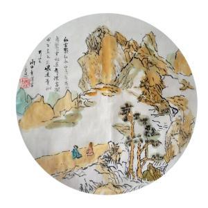 王保雷国画作品《【山水3】作者王保雷 可定制》价格200.00元
