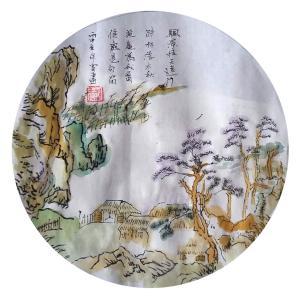 王保雷国画作品《【山水4】作者王保雷 可定制》价格200.00元