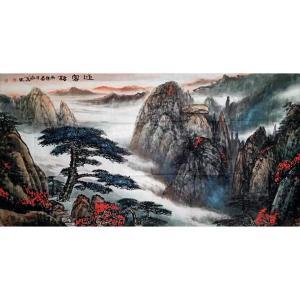 陶尚华国画作品《【山水2】作者陶尚华》价格14400.00元