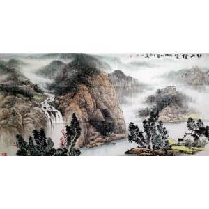陶尚华国画作品《【山水3】作者陶尚华》价格14400.00元