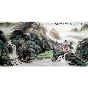陶尚华国画作品《【山水4】作者陶尚华》议价