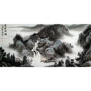 陶尚华国画作品《【山水5】作者陶尚华》议价