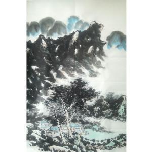 旺木国画作品《【山水2】作者旺木》价格386.00元