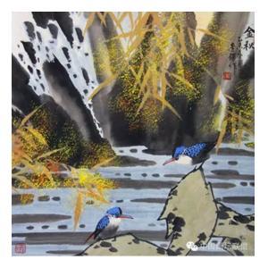 李铎国画作品《【花鸟22】作者李铎》价格9600.00元