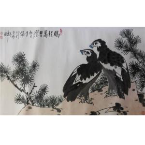李铎国画作品《【花鸟24】作者李铎》价格19200.00元