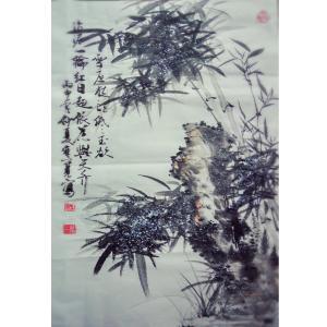 杨维宽国画作品《【一轮红日】作者杨维宽 可定制》价格1200.00元