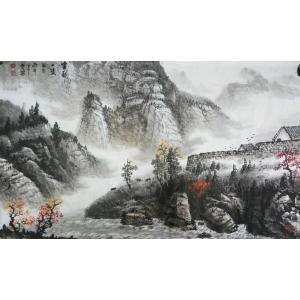 侯虎乐国画作品《【金秋】作者侯虎乐》价格1920.00元
