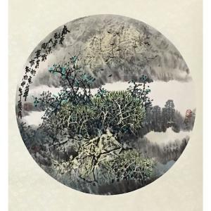 原东平国画作品《【祥和瑞宁】作者原东平》价格21600.00元