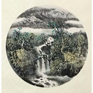 原东平国画作品《【翠枝】作者原东平》价格21600.00元